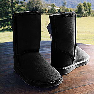 Adult Black Surf Ugg Boots - £48.95. Height approx 24cm.